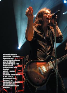 ALTER BRIDGE - METAL HAMMER (ITALY)