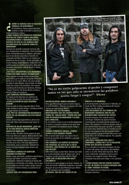 ANGELS OF BABYLON - METAL HAMMER (SPAIN)