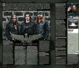 ANGELS OF BABYLON - ROCK TRIBUNE (BELGIUM)