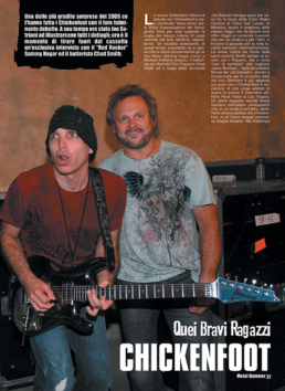 CHICKENFOOT - METAL HAMMER (ITALY)