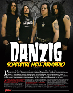 DANZIG - ROCK HARD (ITALY)