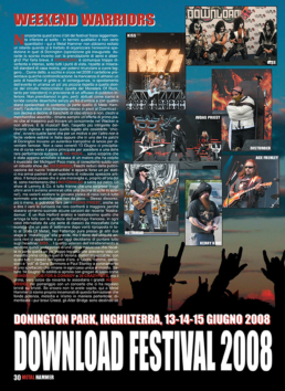 DOWNLOAD FESTIVAL 2008 - METAL HAMMER (ITALY)