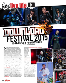 DOWNLOAD FESTIVAL 2015 - ROCK HARD (ITALY)