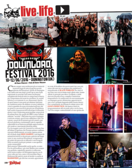 DOWNLOAD FESTIVAL 2016 - ROCK HARD (ITALY)