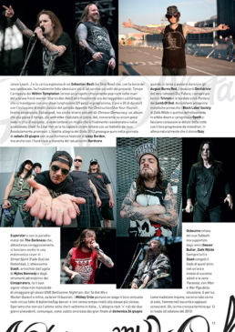 GODS OF METAL 2012 - TATTOO LIFE (ITALY)