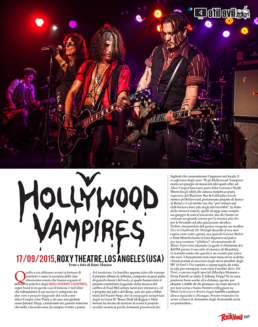 HOLLYWOOD VAMPIRES - ROCK HARD (ITALY)