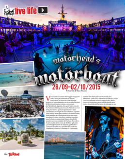 MOTÖRBOAT 2015 - ROCK HARD (ITALY)