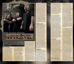 MPIRE OF EVIL - ROCK TRIBUNE (BELGIUM)
