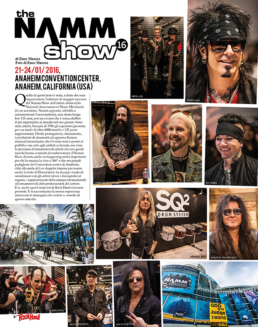 NAMM 2016 - ROCK HARD (ITALY)