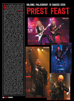 PRIEST FEAST - METAL HAMMER (ITALY)