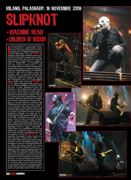 SLIPKNOT - METAL HAMMER (ITALY)