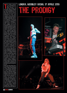 THE PRODIGY - METAL HAMMER (ITALY)