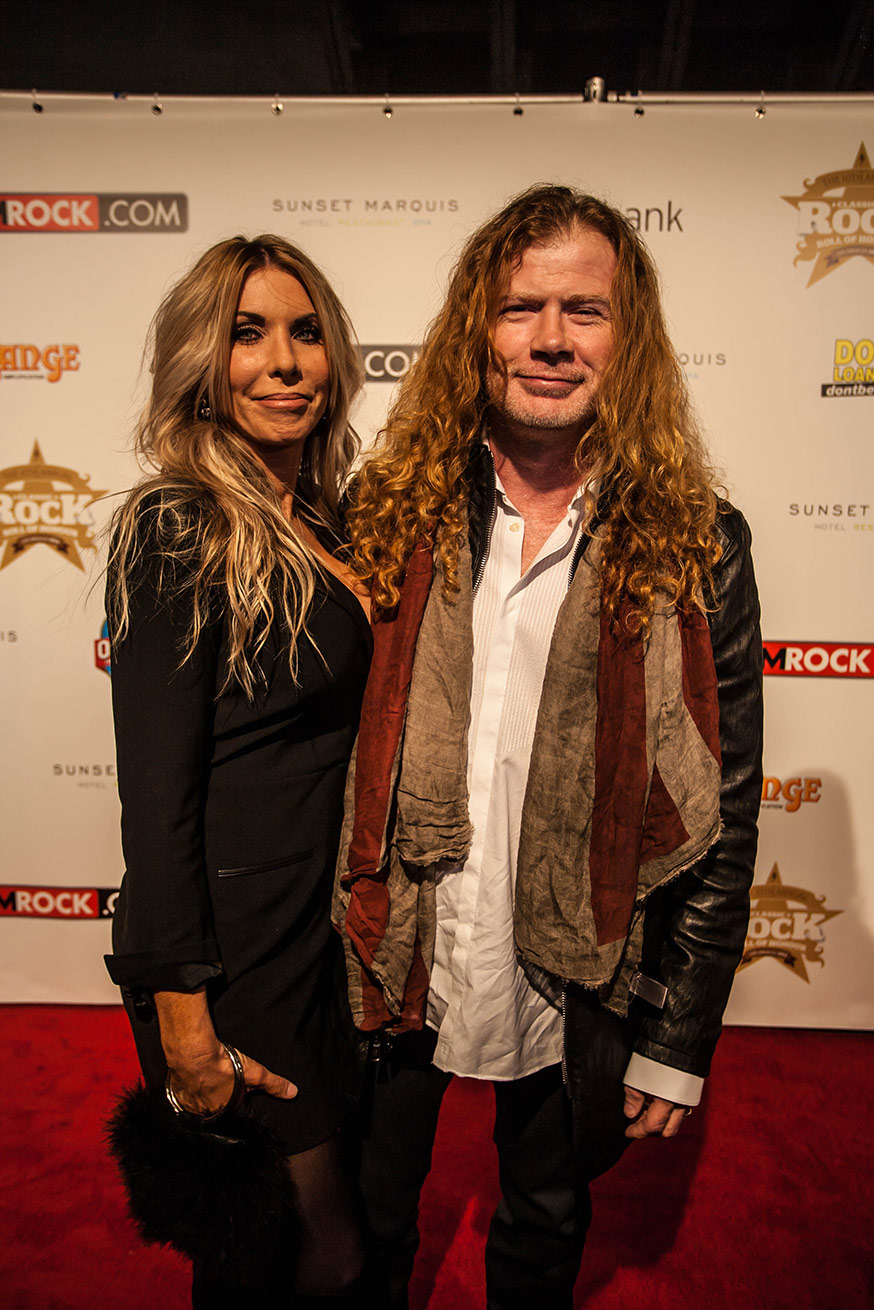 DAVE & PAM MUSTAINE, Hollywood, CA - USA 2014