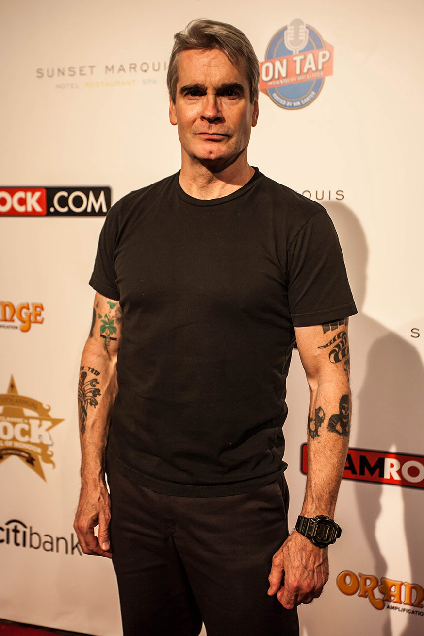 HENRY ROLLINS, Hollywood, CA - USA 2014