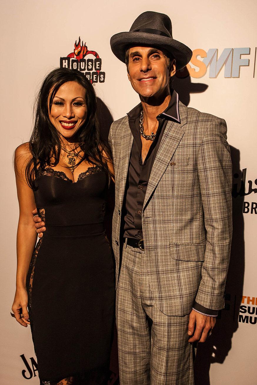 PERRY & ETTI FARRELL, West Hollywood, CA - USA 2014