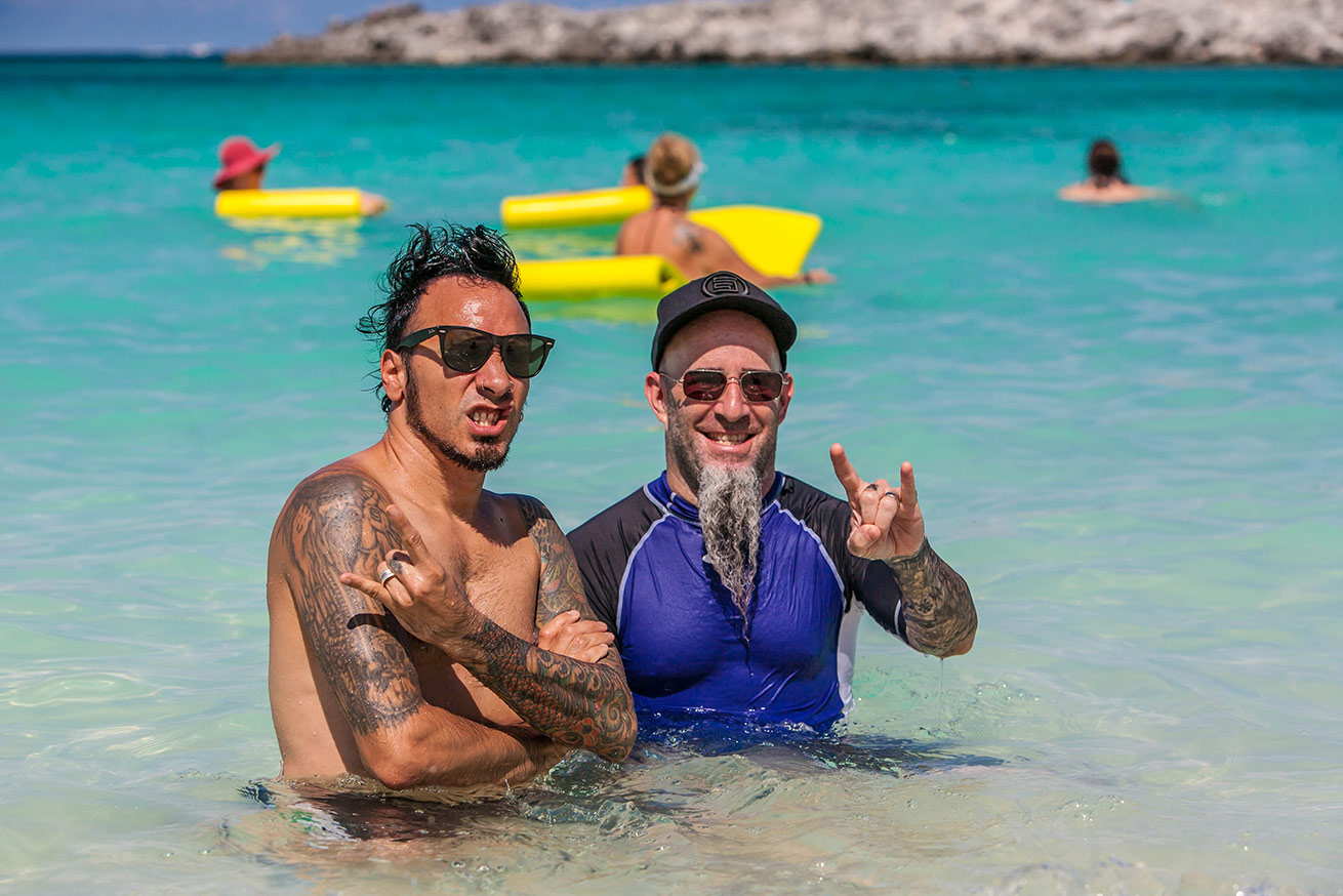SCOTT IAN & ROY MAYORGA, Great Stirrup Cay, BAHAMAS 2015