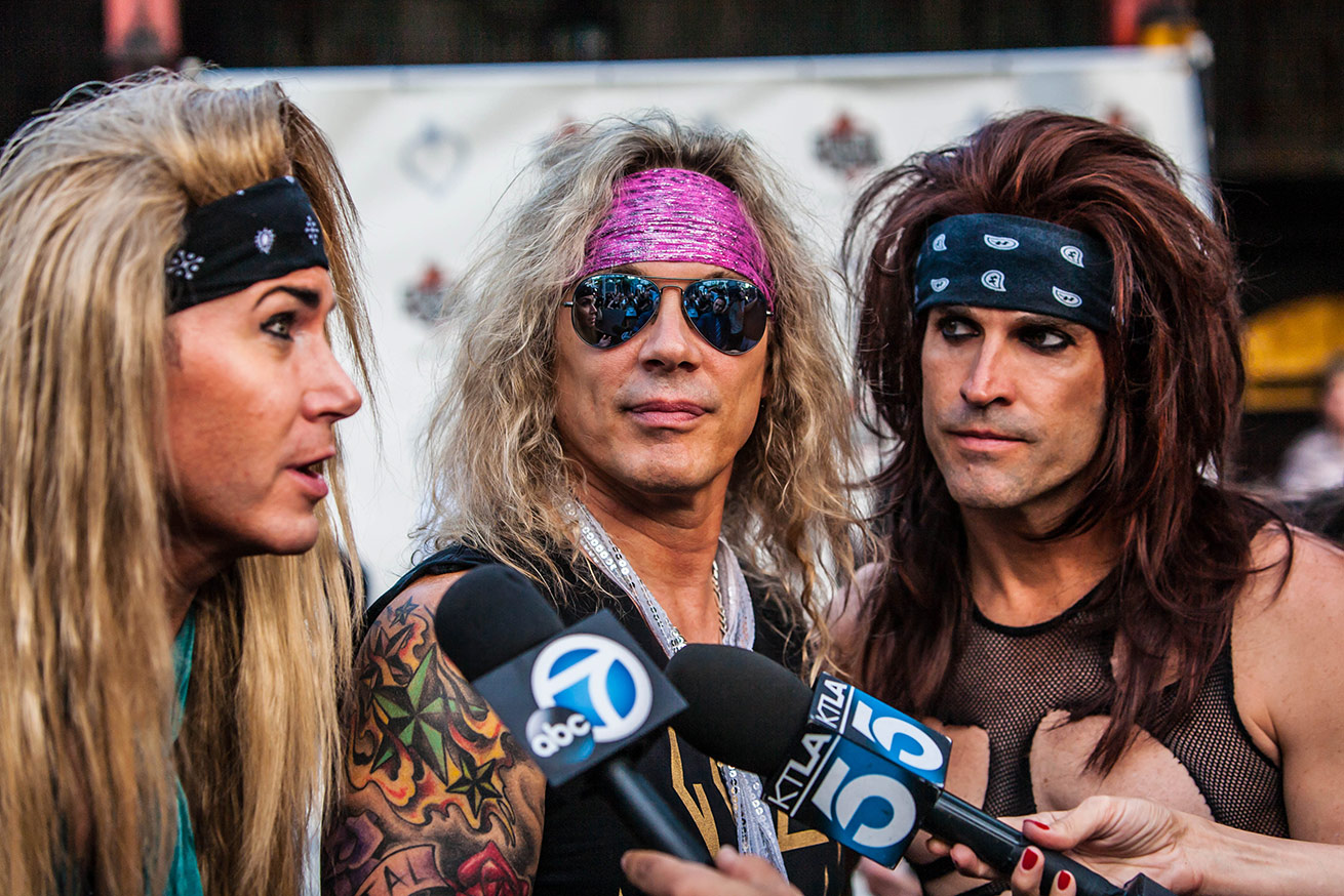 STEEL PANTHER, West Hollywood, CA - USA 2015